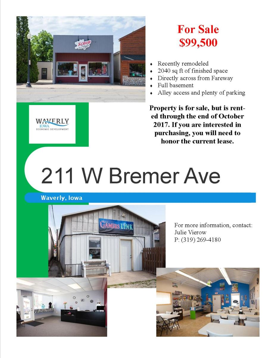 buildings the city of waverly 211 w bremer ave waverly ia 50677 for