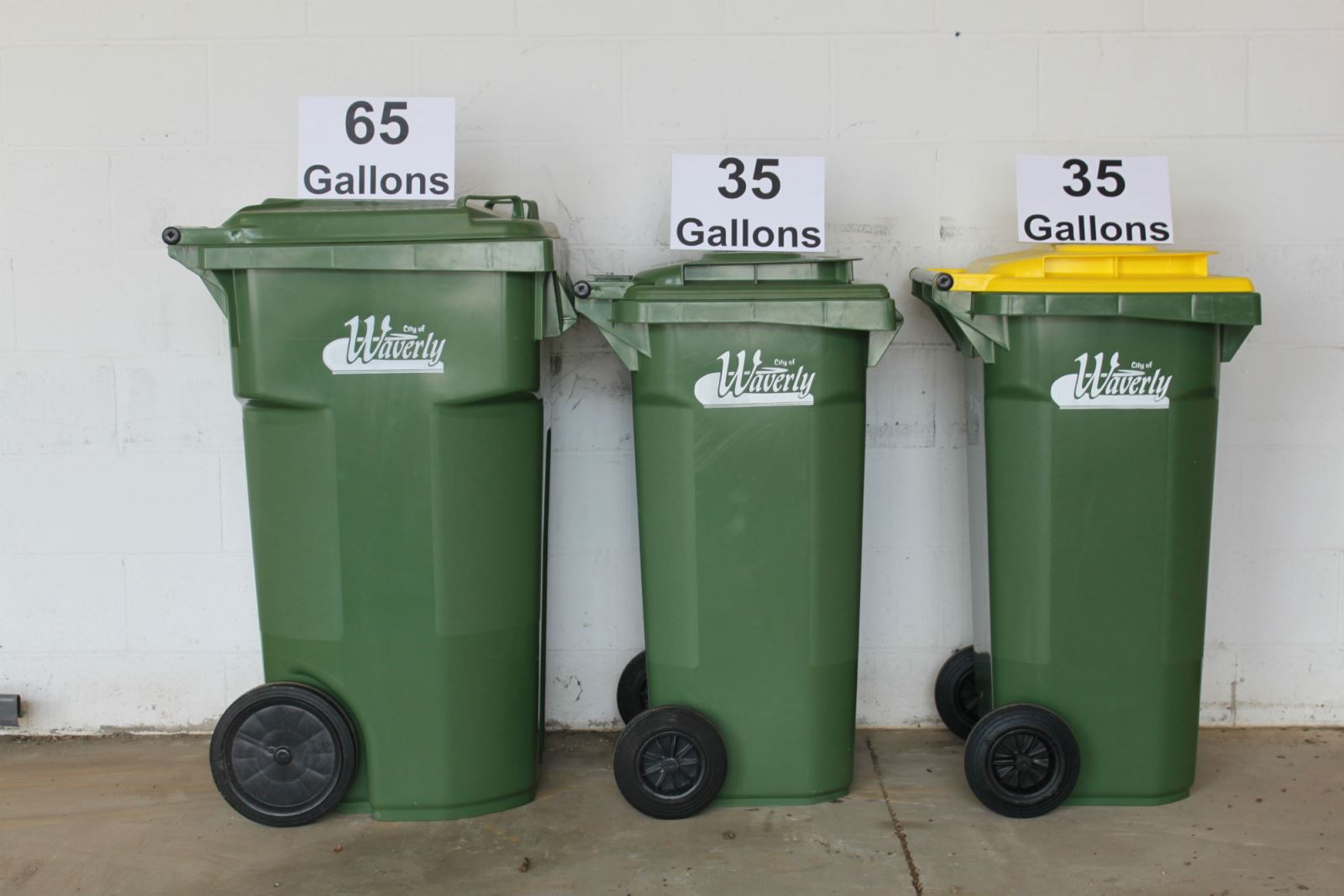 how to close garbage container